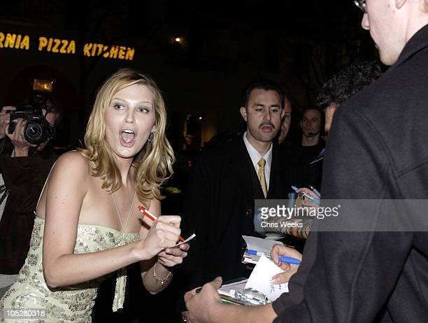 Sara Foster during 'The Big Bounce' World Premiere at Mann Village Theatre in Westwood California United States