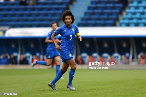 Sara Gama of Italy Women in action during the International Friendly match between Italy Women and Switzerland Women
