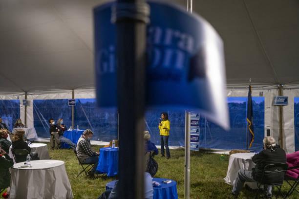 ME: U.S. Democratic Senate Candidate Sara Gideon Holds 'Supper with Sara' Event