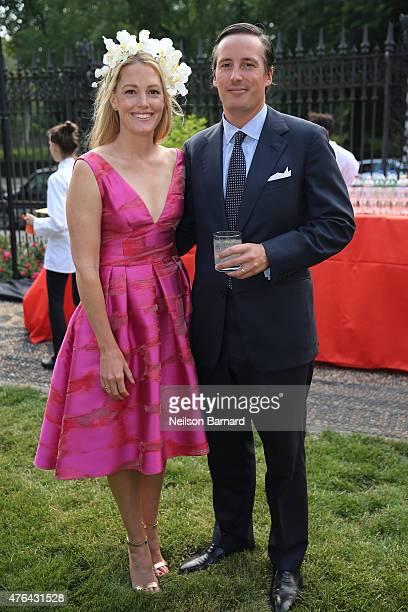 Sara Gilbare and Jay Sullivan attend the The Frick Collection 2015 Spring Garden Party at The Frick Collection on June 8, 2015 in New York City.