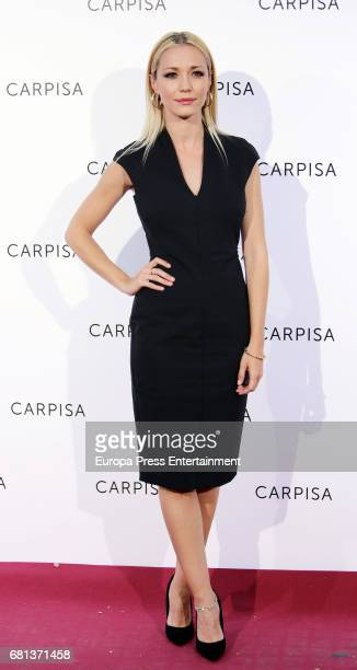 Sara Gomez attends the opening of new Carpisa stores on May 9 2017 in Madrid Spain