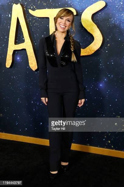 Sara Gore attends the world premiere of Cats at Alice Tully Hall Lincoln Center on December 16 2019 in New York City