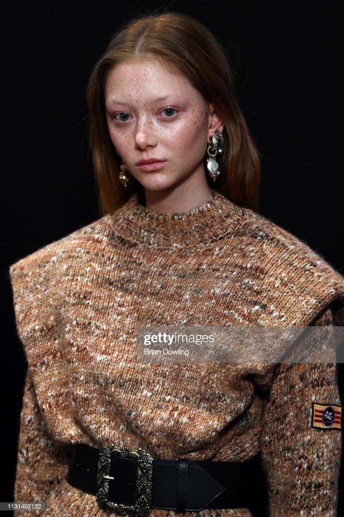 ITA: Etro - Backstage: Milan Fashion Week Autumn/Winter 2019/20