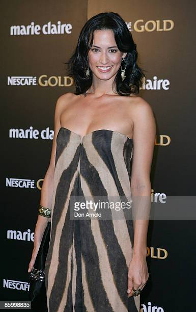 Sara Groen arrives for the 2009 Prix de Marie Claire Awards at the Royal Hall of Industries on April 16 2009 in Sydney Australia