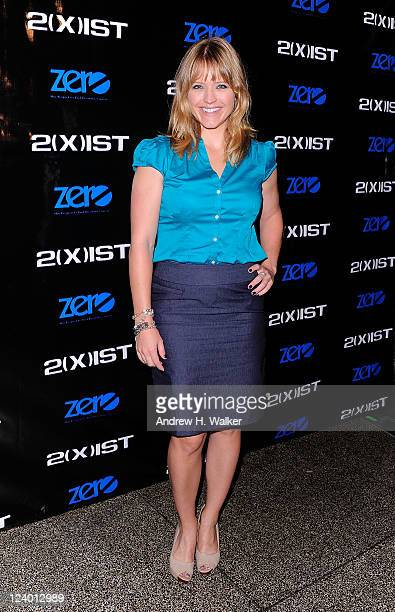 Sara Haines attends the 2ist Spring 2012 presentation during Mercedes Benz Fashion Week at Hiro Ballroom at The Maritime Hotel on September 7 2011 in...