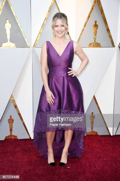 Sara Haines attends the 90th Annual Academy Awards at Hollywood Highland Center on March 4 2018 in Hollywood California