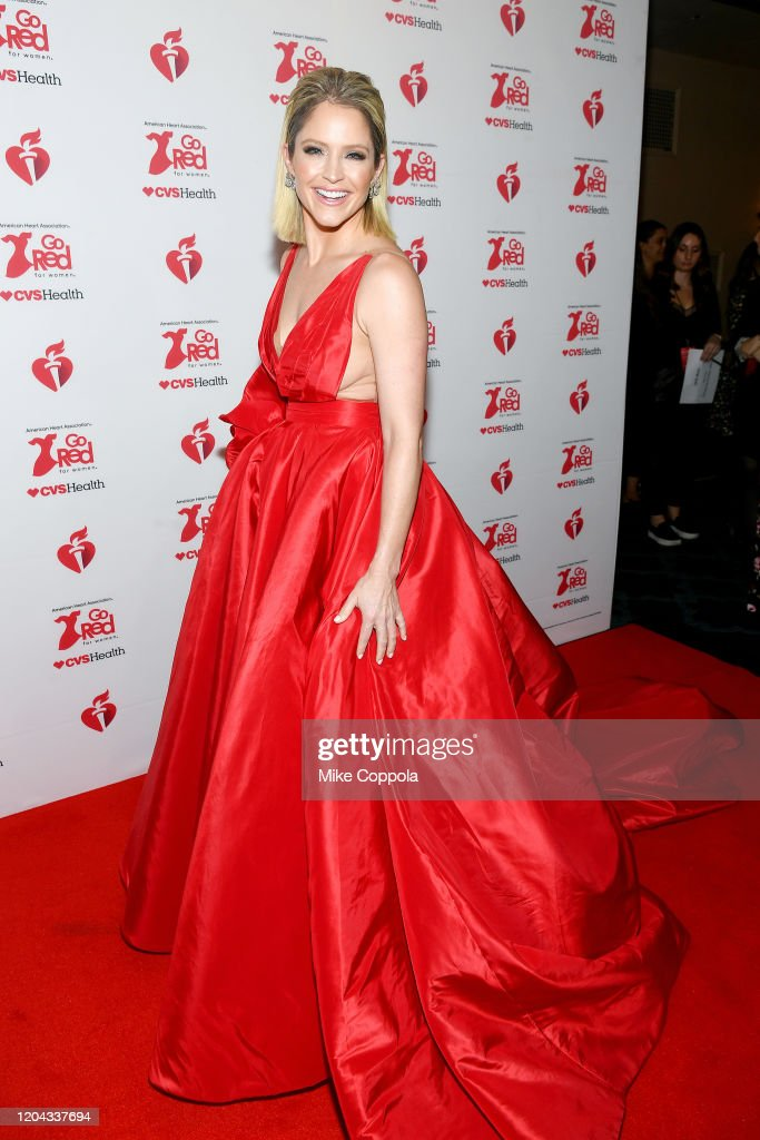 The American Heart Association's Go Red for Women Red Dress Collection 2020 - Arrivals & Front Row : News Photo