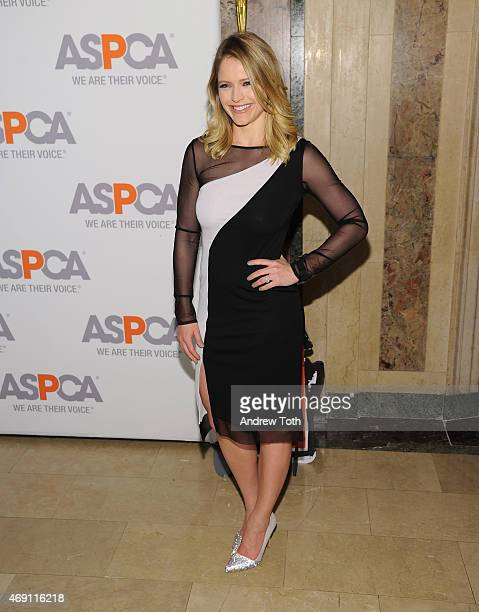 Sara Haines attends the ASPCA'S 18th Annual Bergh Ball honoring Edie Falco and Hilary Swank at The Plaza Hotel on April 9 2015 in New York City
