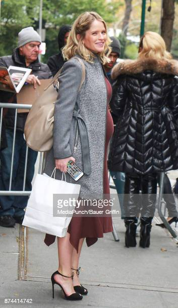 Sara Haines is seen on November 14 2017 in New York City