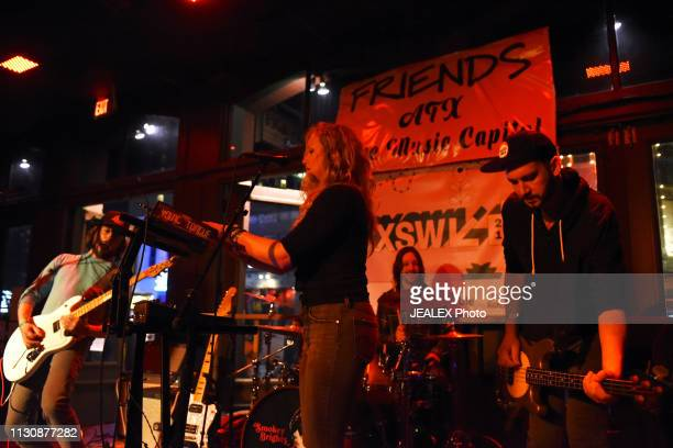Sara Houser of Löwin performs onstage at Nine Mile Records and Touring during the 2019 SXSW Conference and Festivals at on March 15 2019 in Austin...