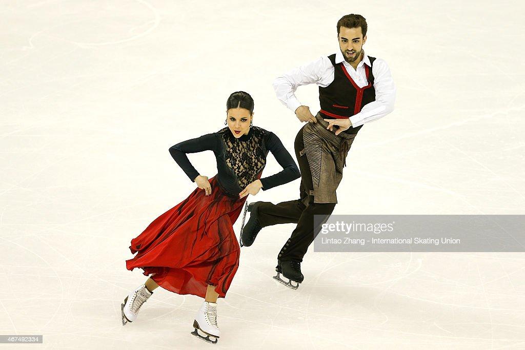 2015 Shanghai World Figure Skating Championships - Day 1