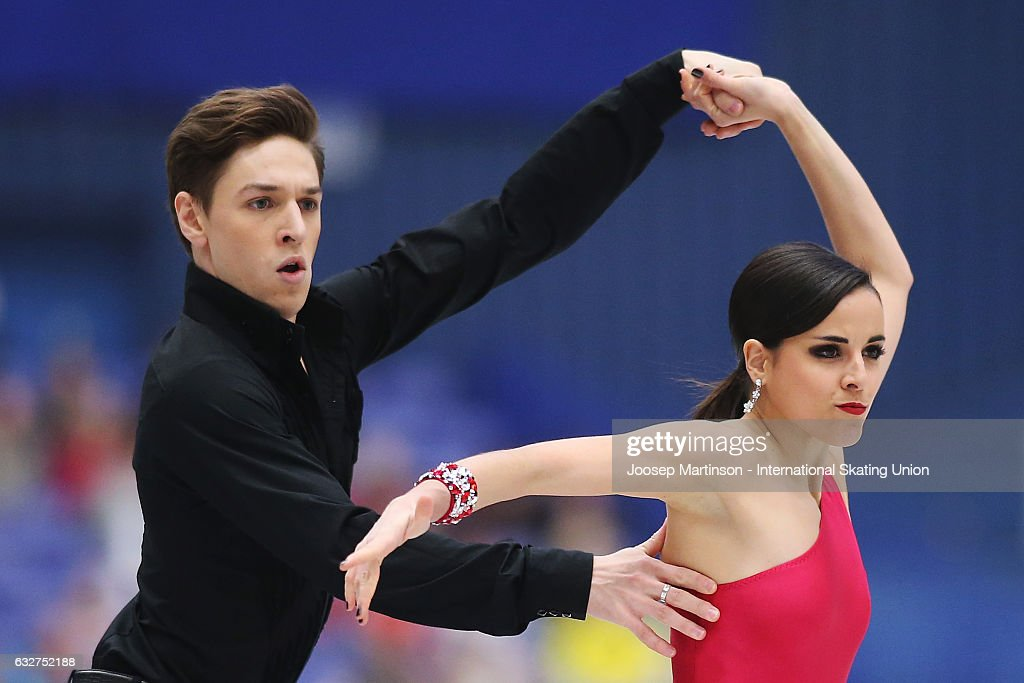 European Figure Skating Championships - Ostrava Day 2