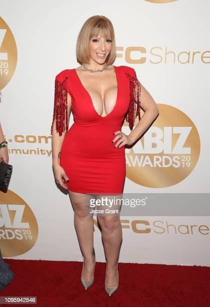 Sara Jay attends the 2019 XBIZ Awards on January 17 2019 in Los Angeles California