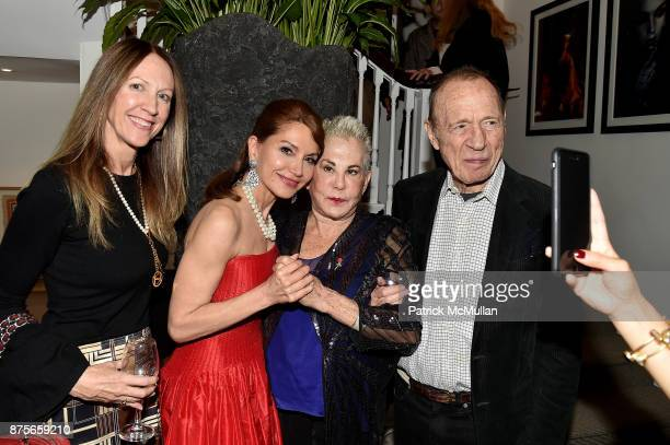 Sara Johnson Kaplan Jean Shafiroff Rose Hartman and Anthony HadenGuest attend Edelman Arts The Infamous Rose Hartman at Edelman Arts on November 17...
