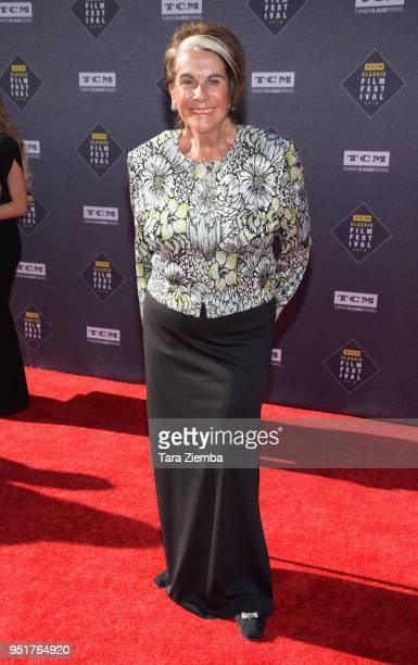 Sara Karloff attends the 2018 TCM Classic Film Festival Opening Night Gala 50th Anniversary World Premiere Restoration of 'The Producers' at TCL...