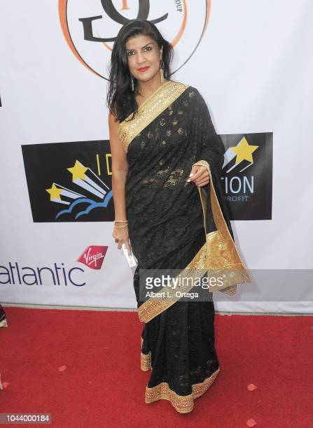 Sara Kazimi arrives for 2nd Annual HAPAwards held at Alex Theatre on September 30 2018 in Glendale California