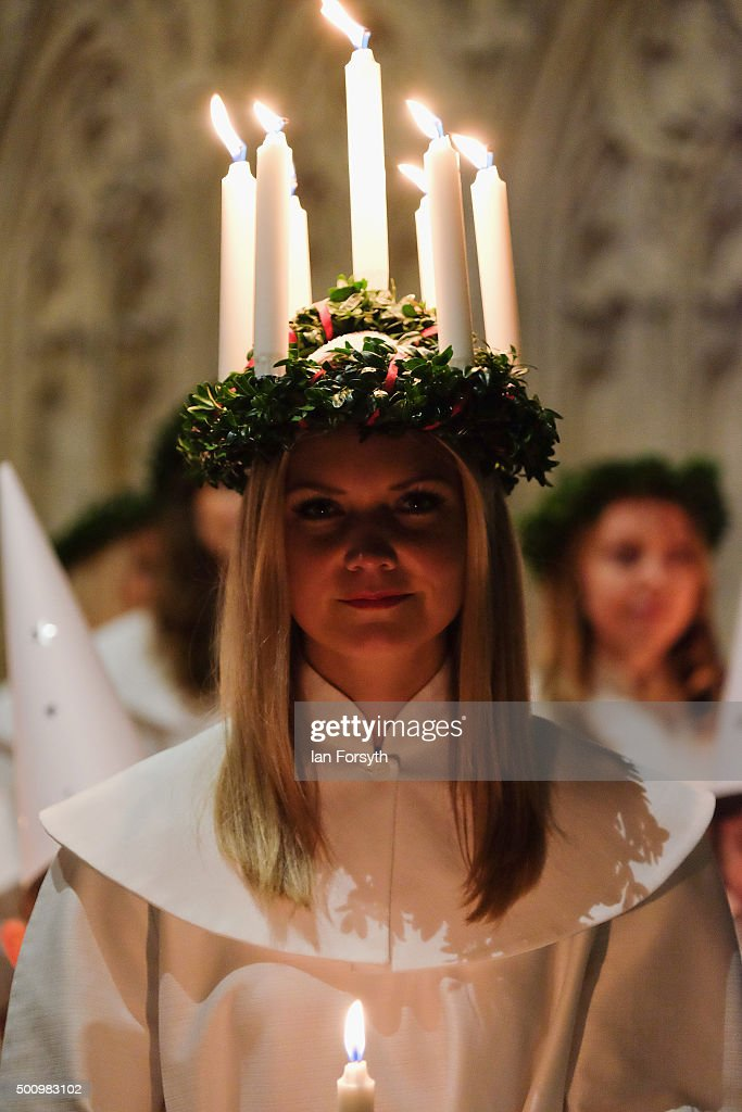 The Annual Sankta Lucia Festival Of Light : News Photo