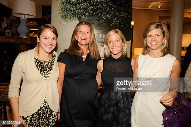 Sara Lloyd Kristen Edson Kathleen Wells and Hobby Williams attend Cocktail party to celebrate the opening of THE DUTCH TOUCH ART COMPANY EXHIBITION...