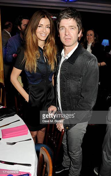 REQUIRED Sara Macdonald and Noel Gallagher attend the Hoping Foundation's 'Rock On' benefit evening for Palestinian refugee children at Cafe de Paris...