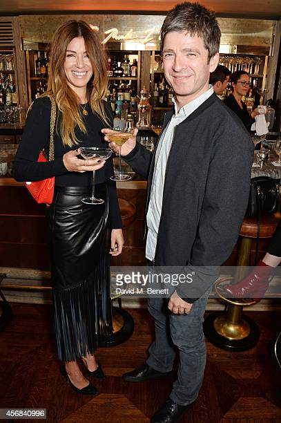 Sara MacDonald and Noel Gallagher attend the launch of The 34 Kate Moss Coupe at 34 Grosvenor Square on October 8 2014 in London England