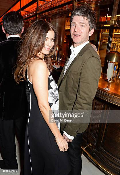 Sara Macdonald and Noel Gallagher attend The Weinstein Company Entertainment Film Distributor StudioCanal 2015 BAFTA After Party in partnership with...