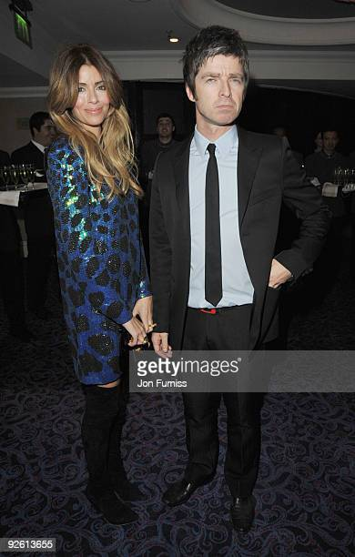 Sara MacDonald and Noel Gallagher from Oasis attend the Music Industry Trusts' Awards at The Grosvenor House Hotel on November 2 2009 in London...