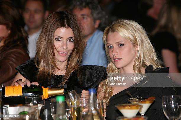 Sara MacDonald and Teresa Palmer during the O2 Silver Clef Awards held at the Park Lane Hilton Hotel on July 4 2008 in London England and