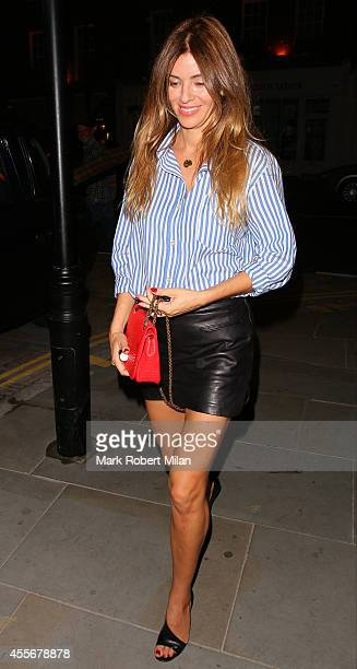 Sara MacDonald at the Chiltern Firehouse on September 18 2014 in London England