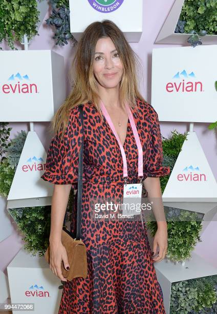 Sara Macdonald attends the evian Live Young Suite at The Championship at Wimbledon on July 9 2018 in London England
