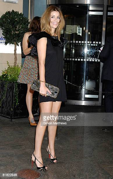 Sara MacDonald attends the O2 Silver Clef Lunch at the Park Lane Hilton on July 4, 2008 in London, England.