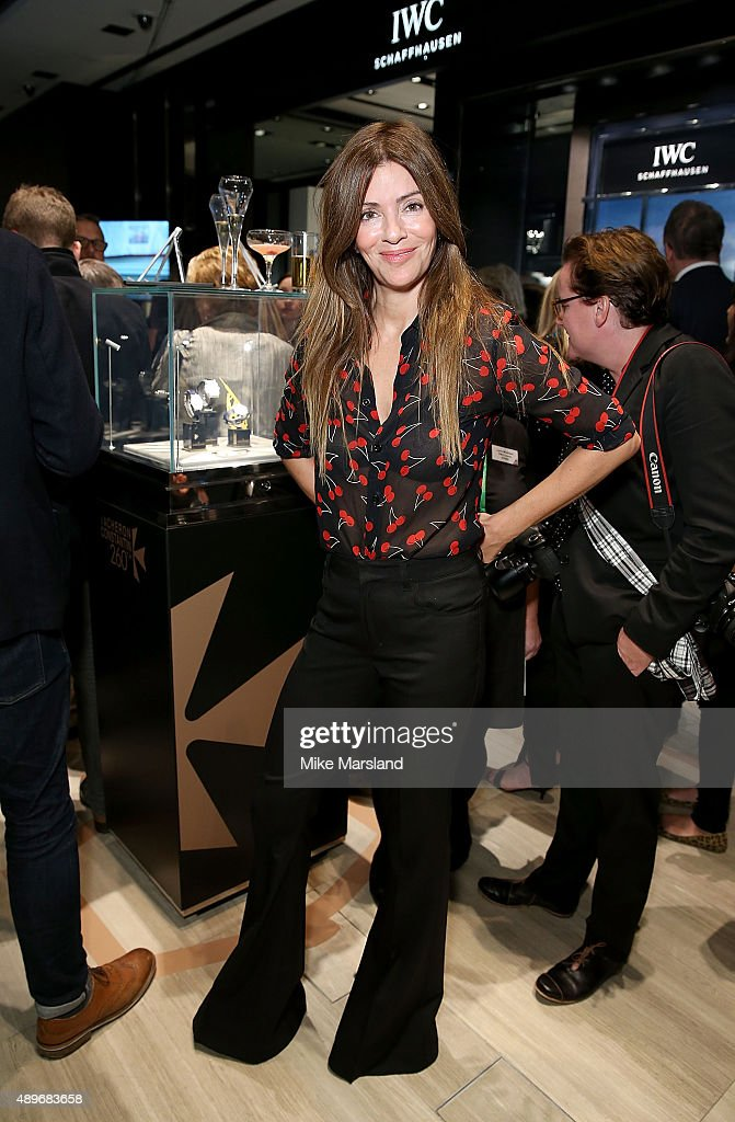 Sara Macdonald attends The Prince & Princess Of Wales Hospice charity event at Watches of Switzerland on September 23, 2015 in London, United Kingdom.