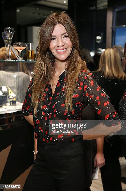 Sara Macdonald attends The Prince Princess Of Wales Hospice charity event at Watches of Switzerland on September 23 2015 in London United Kingdom