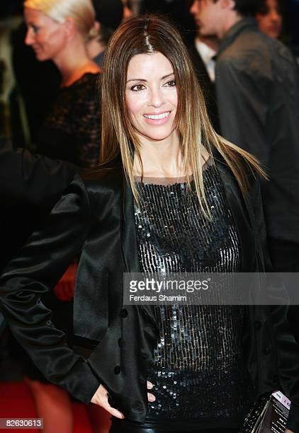 Sara MacDonald attends the World Premiere of 'RocknRolla' held at the Odeon West End Leicester Square on September 1 2008 in London England