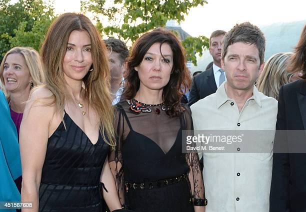 Sara Macdonald Katy England and Noel Gallagher attend The Serpentine Gallery Summer Party cohosted by Brioni at The Serpentine Gallery on July 1 2014...