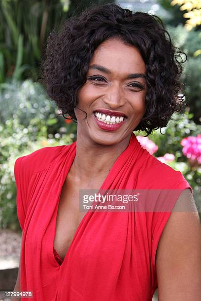 "Sara Martins attends ""Death In Paradise"" photocall as part of MIPCOM 2011 at Hotel Majestic on October 4, 2011 in Cannes, France."