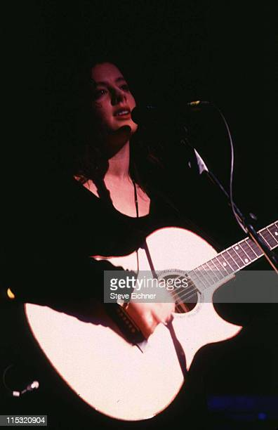 Sara McLachlan during Sara McLachlan in Concert at Town Hall 1992 at Town Hall in New York City New York United States