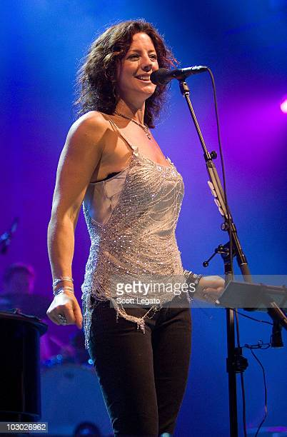 Sara McLachlan performs at the 2010 Lilith Fair at Verizon Wireless Music Center on July 20, 2010 in Noblesville, Indiana.