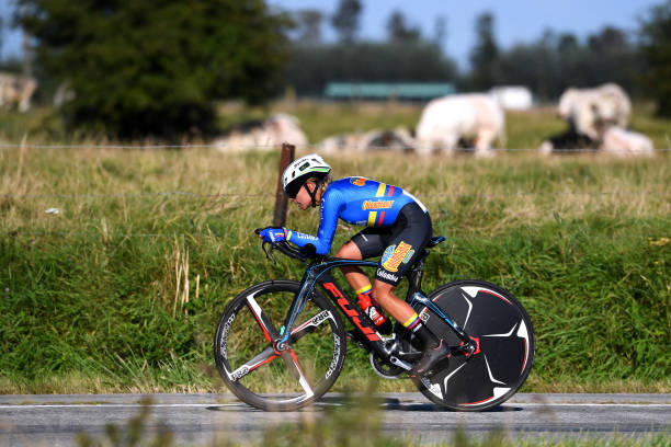 BEL: 94th UCI Road World Championships 2021 - Women Junior ITT