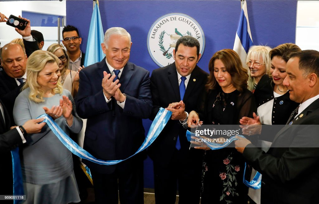 ISRAEL-GUATEMALA-DIPLOMACY-JERUSALEM : News Photo