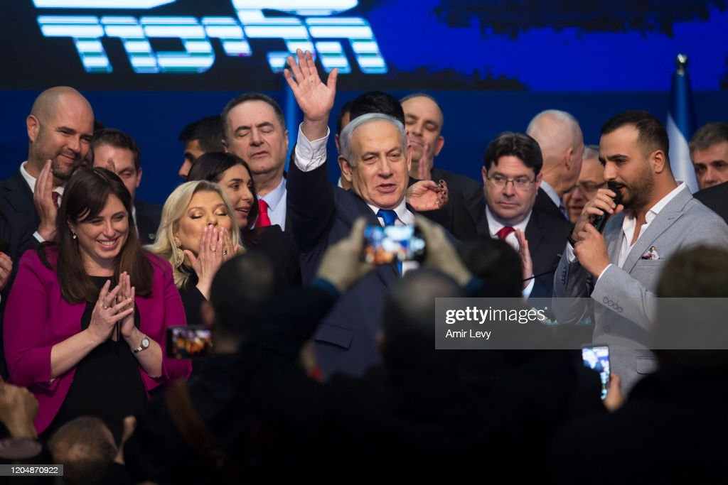 Israel Votes For A New Government For The Third Time In Twelve Months : Foto di attualità