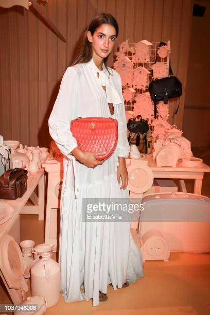 Sara Nicole Rossetto attended the Bally Spring Summer 2019 Press Presentation during Milan Fashion Week on September 22 2018 in Milan Italy