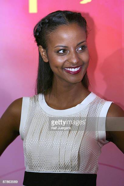 Sara Nuru attends a photocall for PRO7 TV show 'Germany's Next Topmodel' on May 20 2009 in Cologne Germany