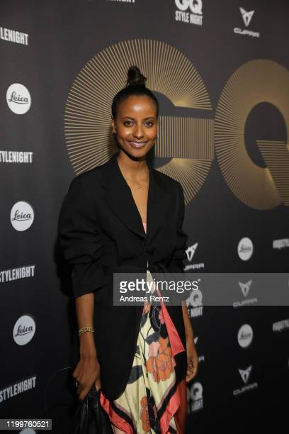 Sara Nuru attends the GQ Style Night during Berlin Fashion Week Autumn/Winter 2020 at BRICKS Berlin on January 15, 2020 in Berlin, Germany.