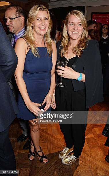 Sara Parker Bowles and Laura Lopes attend Fortnum Mason's Diamond Jubilee Tea Salon for the launch of Tom Parker Bowles' new book Let's Eat Meat at...
