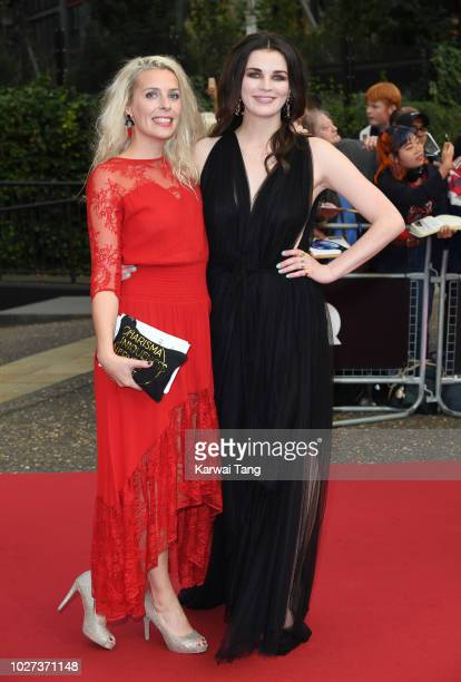 Sara Pascoe and Aisling Bea attend the GQ Men of the Year Awards at Tate Modern on September 5 2018 in London England