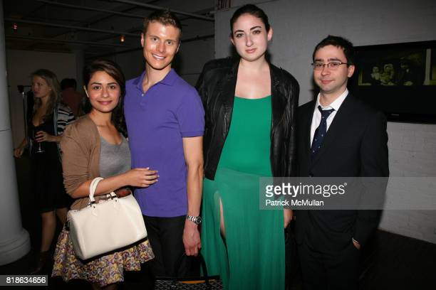 Sara Pashmforoosh Carter Cramer Leah Bourne and Max Brooks attend The Junior Society of BALLET HISPANICO and BRIAN REYES host a Champagne Receptions...