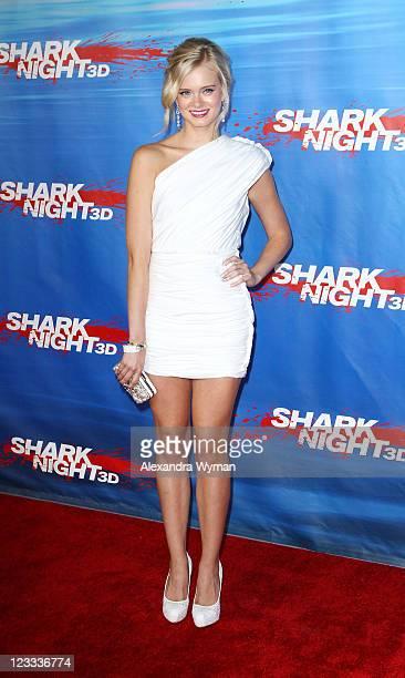 Sara Paxton at 'Shark Night 3D' Los Angeles Premiere held at Universal City Walk on September 1 2011 in Universal City California