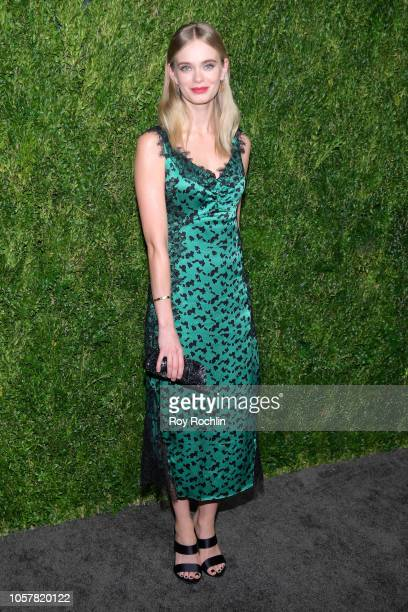Sara Paxton attends the CFDA / Vogue Fashion Fund 15th Anniversary Event at Brooklyn Navy Yard on November 5 2018 in Brooklyn New York
