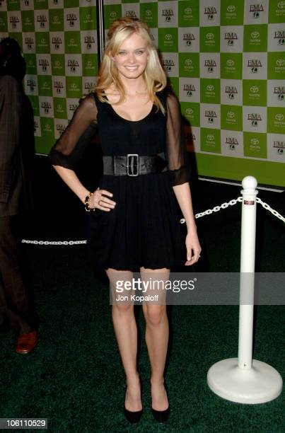 Sara Paxton during 16th Annual Environmental Media Awards Arrivals at Wilshire Ebell Theatre in Los Angeles California United States
