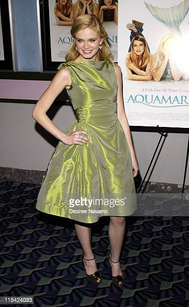 Sara Paxton during 20th Century Fox Special New York City Screening of 'Aquamarine' at Clearview Chelsea Theater in New York City New York United...